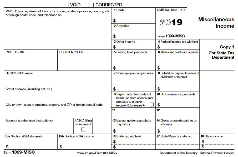 1099-MISC Form