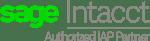 Sage Intacct IAP partner logo