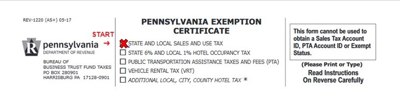 Pa Sales Tax >> What Contractors Need To Know About The Pa Bme Exemption