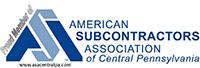 American Subcontractors Association of Central Pennsylvania
