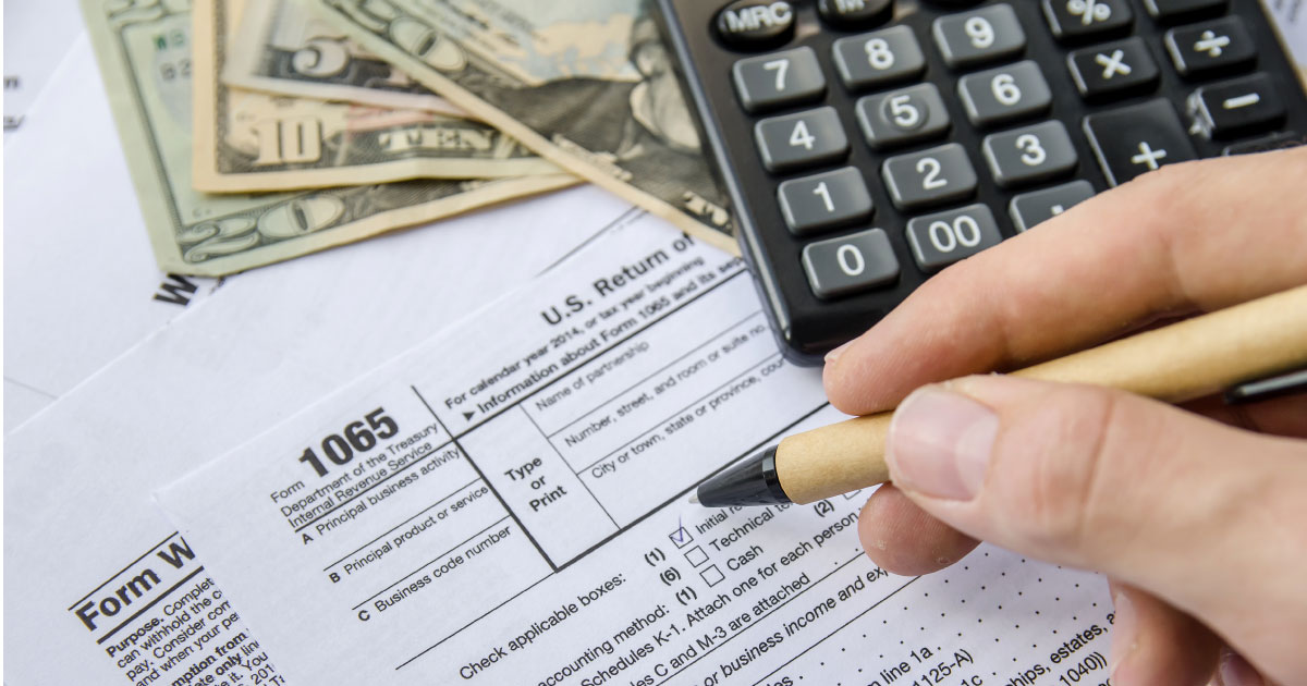 form 1065 negative capital account  IRS Issues New Forms for 10