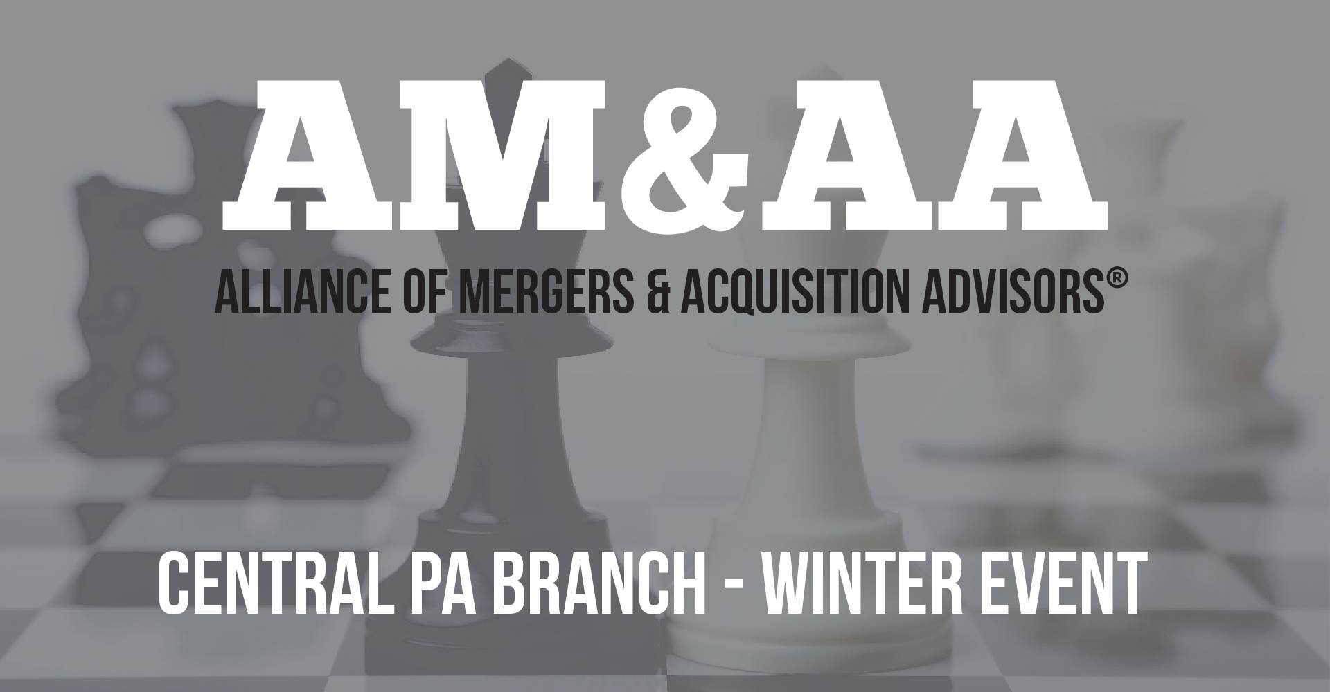 AM&AA Central PA Chapter Announces Their Spring Event