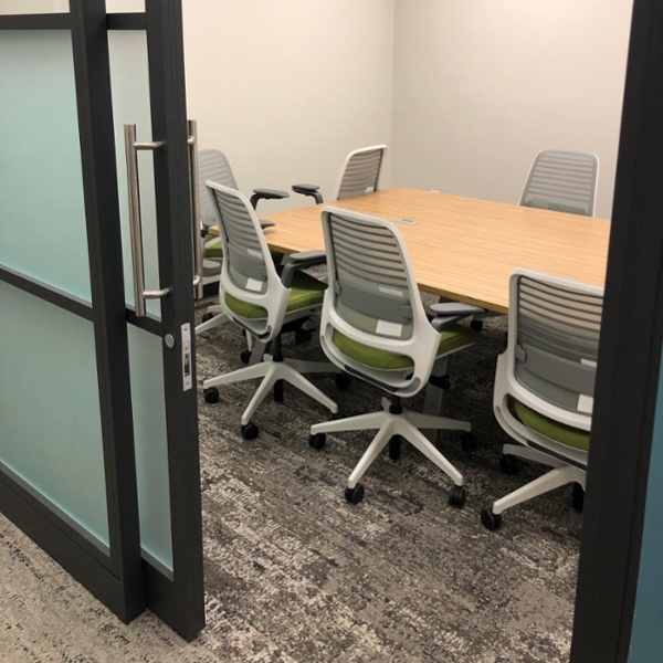 photo of Trout CPA's conference room