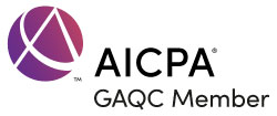 AICPA GAQC logo