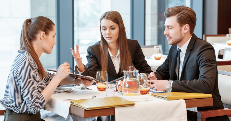 Businesses can temporally claim 100% of their food & beverage expenses