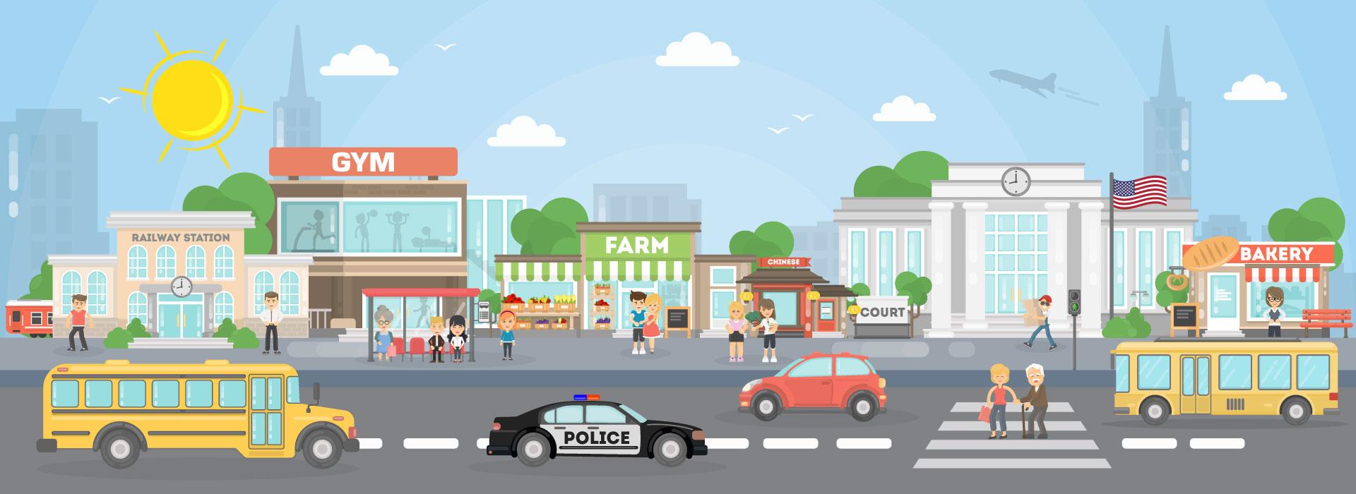 City-Illustration