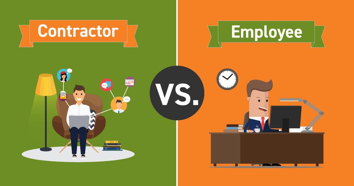 Contractor versus employee