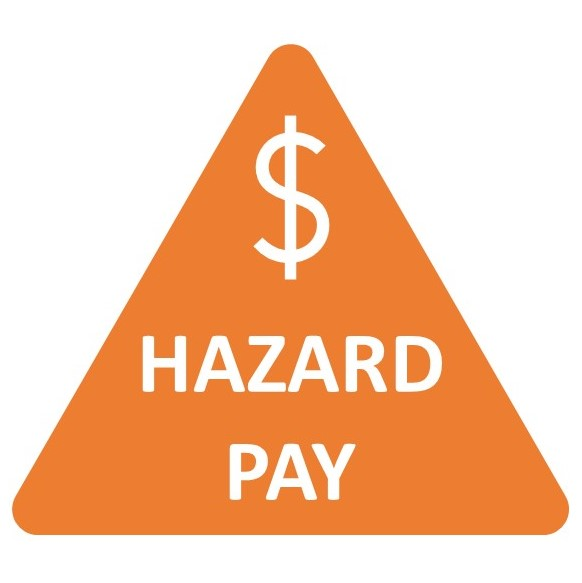 Hazard Pay Icon