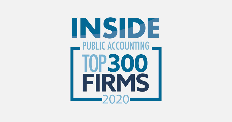 Trout CPA Named a Top 300 Firm by INSIDE Public Accounting