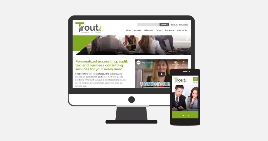 Trout CPA Launches New Website