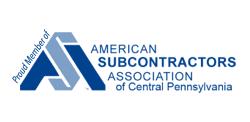 American Subcontractors Association of Central Pennsylvania logo