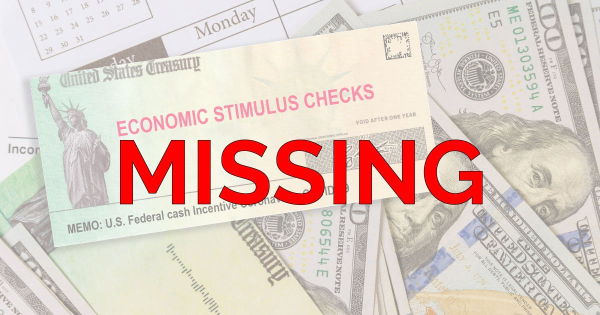Why Have I Not Received My Stimulus Check?